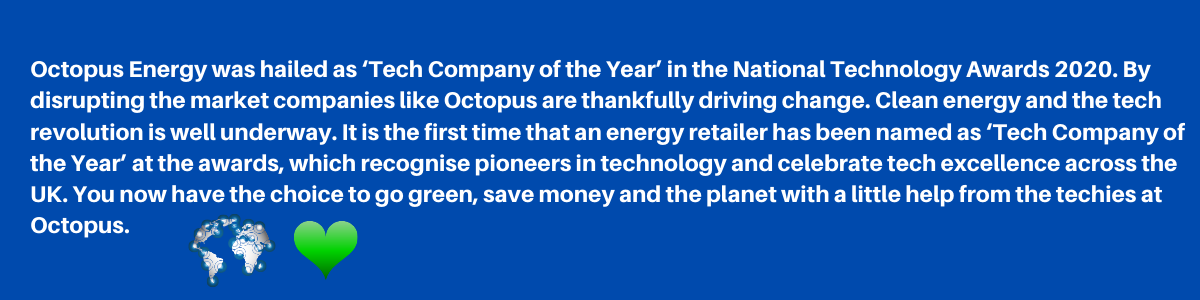 SWITCH TO OCTOPUS ENERGY